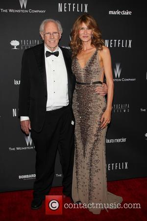 Bruce Dern and Laura Dern - The Weinstein Company & Netflix 2014 Golden Globes After Party held at The Beverly...