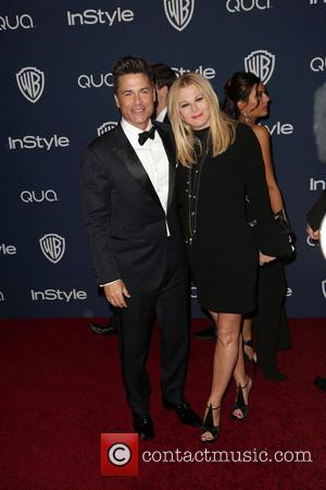 Rob Lowe and Sheryl Berkoff - 15th Annual Warner Bros and InStyle Golden Globe Awards After Party - Arrivals held...