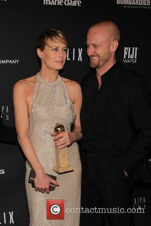 Robin Wright and Ben Foster - The Weinstein Company & Netflix 2014 Golden Globes After Party held at The Beverly...