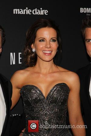 Kate Beckinsale - The 71st Annual Golden Globe Awards - Weinstein Party  at The Beverly Hilton Hotel - Los...