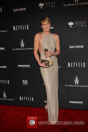 Robin Wright - The 71st Annual Golden Globe Awards - Weinstein Party  at The Beverly Hilton Hotel - Los...