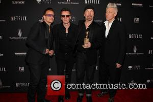 U2, Golden Globe Awards, Beverly Hilton Hotel