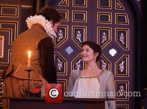 Gemma Arterton and Alex Waldman - 'The Duchess of Malfi' photocall held at the Sam Wanamaker Playhouse. - London, United...