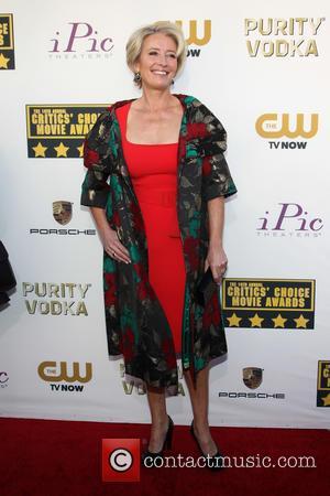 Emma Thompson - The 19th Annual Critics' Choice Awards at The Barker Hangar - Santa Monica, California, United States -...