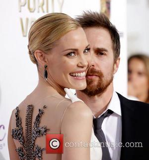 Leslie Bibb and Sam Rockwell - The 19th Annual Critics' Choice Awards at The Barker Hangar - Arrivals - Los...