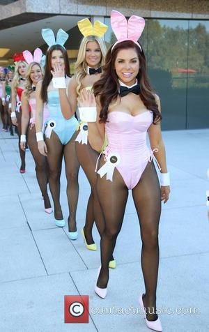 playmate - Playboy Celebrates 60th Anniversary with a 60 Bunnies Bus Tour in Los Angeles. - Los Angeles, California, United...