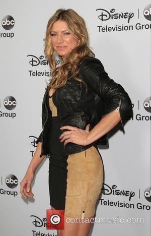 Jes Macallan - ABC/Disney TCA Winter Press Tour party at The Langham Huntington Hotel - Arrivals - Pasadena, California, United...