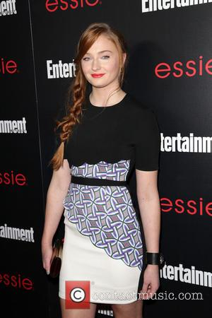 Sophie Turner - Entertainment Weekly Screen Actors Guild Party at Chateau Marmont - Arrivals - Los Angeles, California, United States...