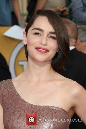 Emilia Clarke - 20th Annual Screen Actors Guild Awards Presentation