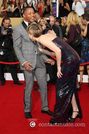 Cuba Gooding Jr. and Jennifer Lawrence - California - West Hollywood, California, United States - Saturday 18th January 2014