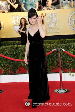 Pauley Perrette - The 20th Annual Screen Actors Guild (SAG) Awards held at The Shrine Auditorium - Arrivals - Los...