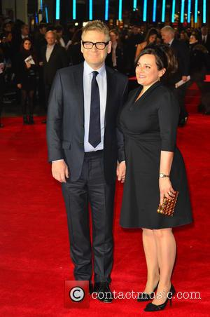 Kenneth Branagh and Guest - European premiere of 'Jack Ryan: Shadow Recruit' held at the Vue Leicester Square - Arrivals...