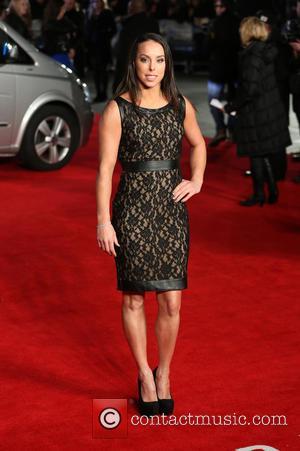 Beth Tweddle - 'Jack Ryan: Shadow Recruit' UK premiere at Vue cinema - Red Carpet Arrivals - London, United Kingdom...