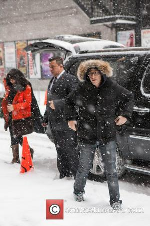 Andy Samberg - Celebrities at the Ed Sullivan Theater for the Late Show With David Letterman - New York City,...