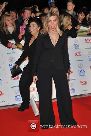 Samantha Womack and Jessie Wallace - National Television Awards held at the O2 Arena - Arrivals. - London, United Kingdom...