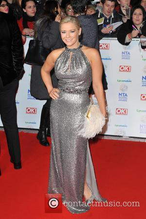 Suzanne Shaw - National Television Awards held at the O2 Arena - Arrivals. - London, United Kingdom - Wednesday 22nd...