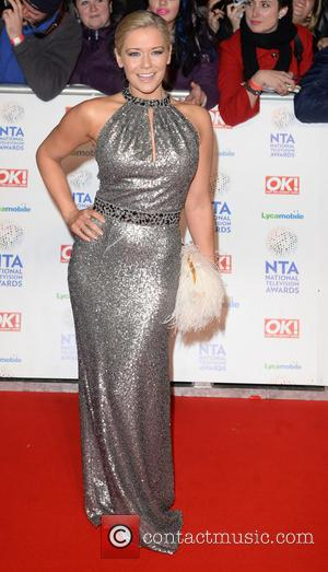 Suzanne Shaw - The National Television Awards 2014 (NTA's) held at the O2 Arena - Arrivals - London, United Kingdom...