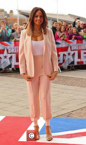 Alesha Dixon - Arrivals for the Cardiff round of auditions for Britain's Got Talent - Cardiff, United Kingdom - Thursday...