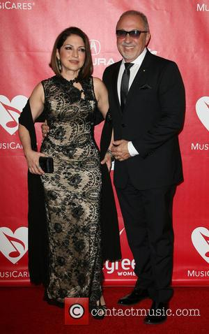 Gloria Estefan and Emilio Estefan - MusiCares 2014 Person Of The Year Tribute honoring Carole King held at the Los...
