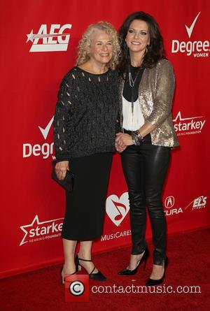 Carole King and Martina McBride - 2014 MusiCares Person Of The Year honoring Carole King at Los Angeles Convention Center...