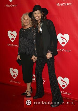 Carole King and Steven Tyler - 2014 MusiCares Person Of The Year honoring Carole King at Los Angeles Convention Center...