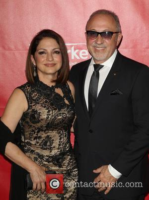 Gloria Estefan and Emilio Estefan - 2014 MusiCares Person Of The Year honoring Carole King at Los Angeles Convention Center...