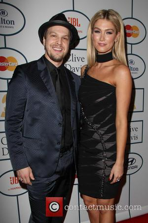 Gavin Degraw and Delta Goodrem - 2014 Pre-Grammy Gala & Grammy Salute to Industry Icons - Clive Davis at The...