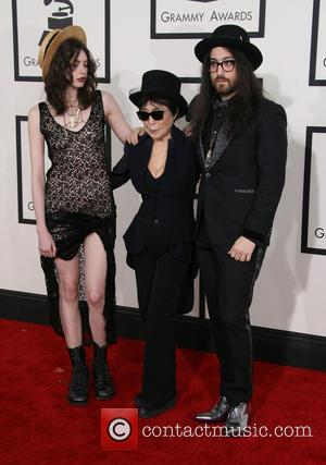 Charlotte Kemp Muhl, Yoko Ono and Sean Lennon - The 56th Annual GRAMMY Awards (2014) held at the Staples Center...