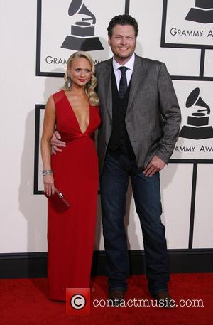 Miranda Lambert and Blake Shelton - The 56th Annual GRAMMY Awards (2014) held at the Staples Center in Los Angeles,...