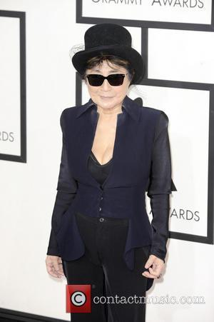 Yoko Ono - 56th GRAMMY Awards - Arrivals - Los Angeles, California, United States - Sunday 26th January 2014
