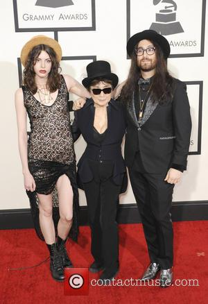 Yoko Ono and Sean Lennon - 56th GRAMMY Awards - Arrivals - Los Angeles, California, United States - Sunday 26th...