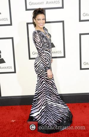 Paula Patton Attends Independent Spirit Awards Post Robin Thicke Split