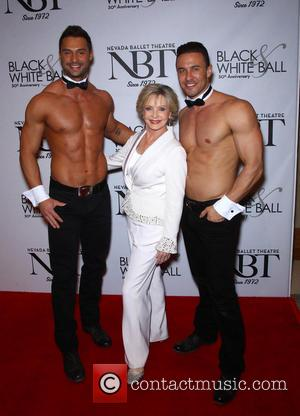 Florence Henderson and Chippendales - Nevada Ballet Theater honors Florence Henderson as its Women Of The Year at the 30th...
