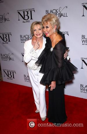 Florence Henderson and Mitzi Gaynor - Nevada Ballet Theater honors Florence Henderson as its Women Of The Year at the...