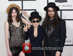 Charlotte Kemp Muhl, Yoko Ono and Sean Lennon - The 56th Annual GRAMMY Awards held at the Staples Center -...