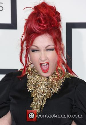 Cyndi Lauper - The 56th Annual GRAMMY Awards held at the Staples Center - Arrivals - Los Angeles, California, United...