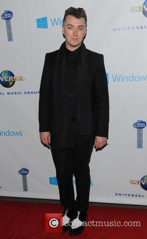 Sam Smith - Universal Music Groups post Grammy party - Arrivals - Los Angeles, California, United States - Sunday 26th...