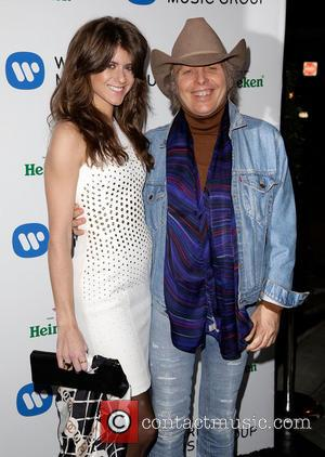 Emily Joyce and Dwight Yoakam - Celebrities attend Warner Music Group Annual Grammy Celebration at Sunset Tower Hotel. - Los...