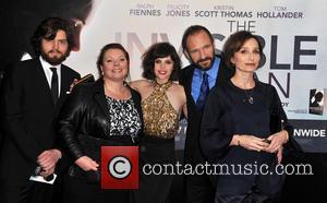 Tom Burke, Joanna Scanlan, Felicity Jones and Ralph Fiennes & Kristen Scott Thomas - The U.K. premiere of 'The Invisible...
