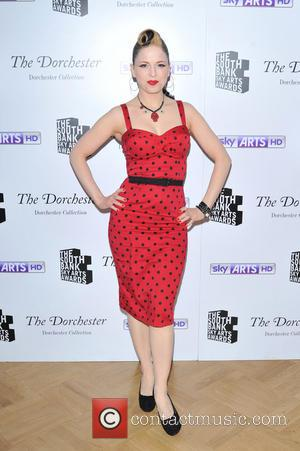 Imelda May - The South Bank Sky Arts Awards held at the Dorchester Hotel - Press Rooms. - London, United...