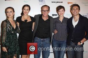 Rose McIver, Maggie Kiley, Clark Gregg, Elvy Yost and Chris Lowell -
