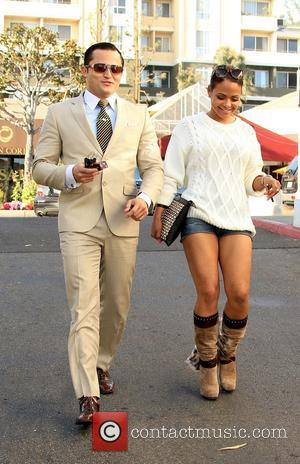 Christina Milian and Oskar Rivera