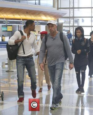 Will Smith and Jaden Smith - Will Smith and his son, Jaden at Los Angeles International airport - Los Angeles,...