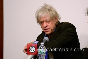 Bob Geldof - CBGB Festival Presents Amnesty International Concert held at the Barclays Center - Press Conference - New York...