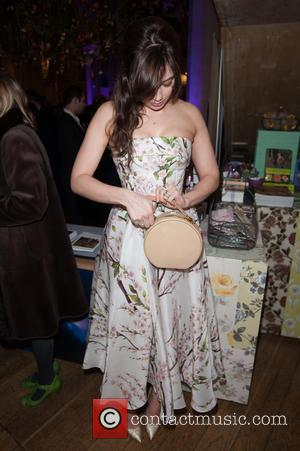 Daisy Lowe - Fashion & Gardens - private view held at the The Garden Museum. - London, United Kingdom -...