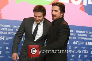 Bradley Cooper and Christian Bale - 64th Berlin International Film Festival (Berlinale) - 'American Hustle' press conference - Berlin, Germany...