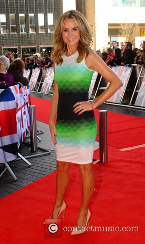 AMANDA HOLDEN - 'Britain's Got Talent' auditions in Manchester - Manchester, United Kingdom - Friday 7th February 2014