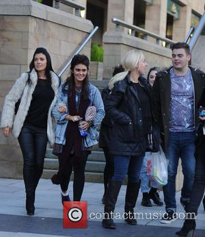 Kym Marsh, Edmily Cunliffe and David Cunliffe - Kym Marsh takes her daughter Emily Mae to audition for 'Britains Got...