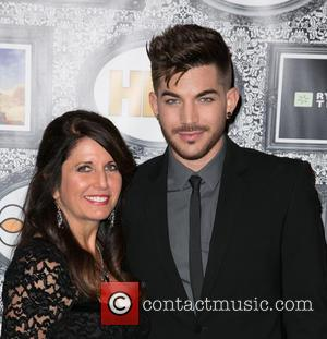 Leila Lambert and Adam Lambert - Family Equality Council's Annual Los Angeles Awards Dinner at The Globe Theatre - Arrivals...