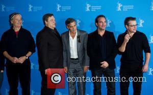 Bill Murray, John Goodman, George Clooney, Jean Dujardin and Matt Damon - Photo call for The Monuments Men, 64th Berlin...